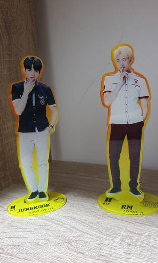 🚚 RM & Jungkook unofficial standee