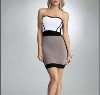 Bebe XS strapless Dress $10
