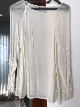 Baju blouse kemeja atasan Zara