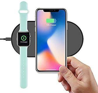 Miikare 2 in 1 wireless charging pad