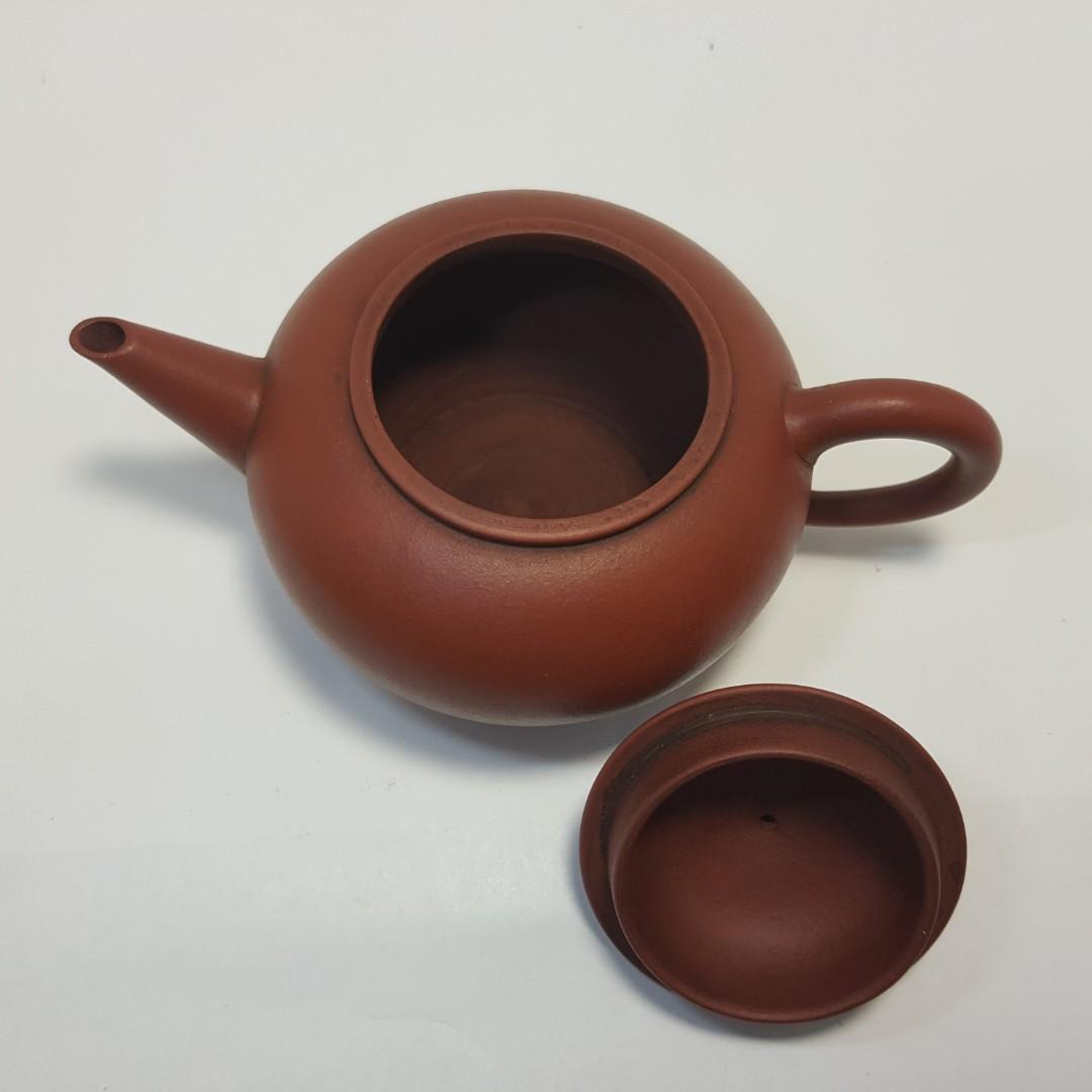 //壺作飛為//早期5-60年代南孟臣12杯紅泥標準壺(6)~請品賞