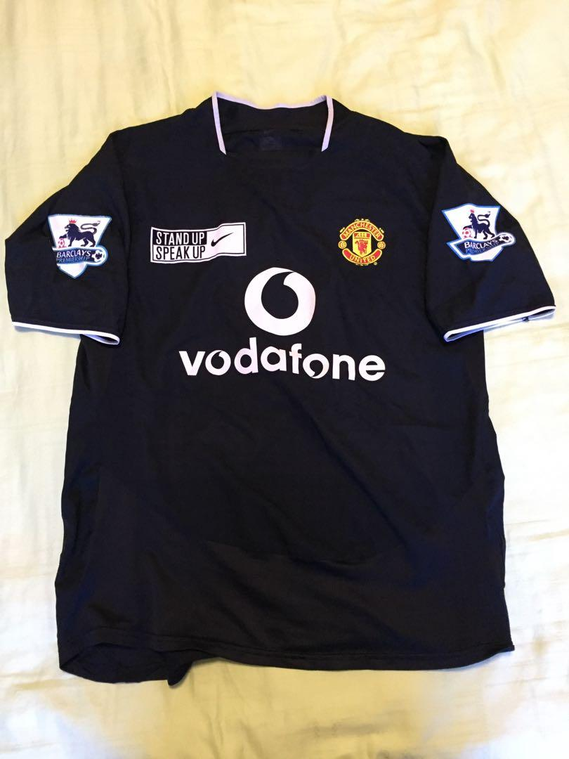 brand new 845ee 6c9d2 Authentic Manchester United Jersey, Sports, Sports Apparel ...