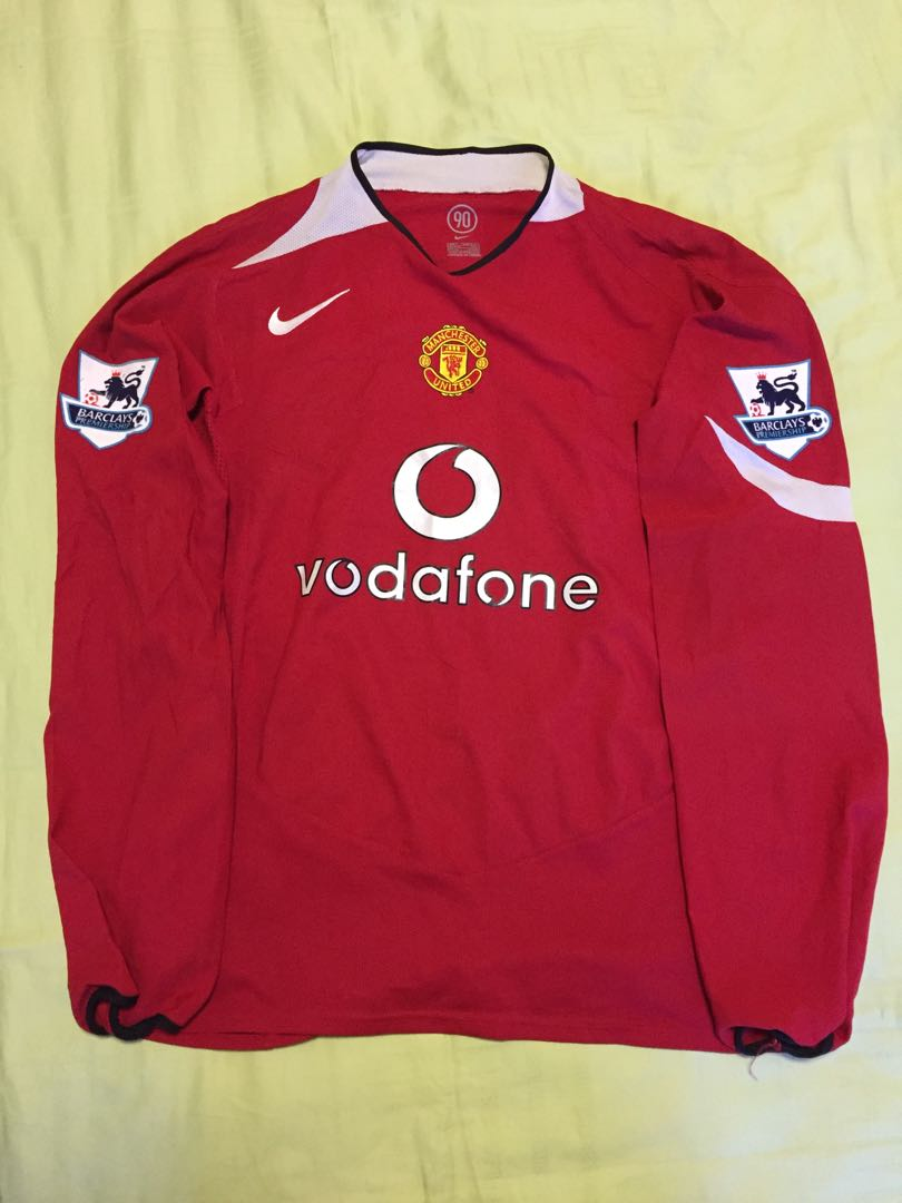 quality design 64d01 8fc9a Authentic Manchester United Jersey