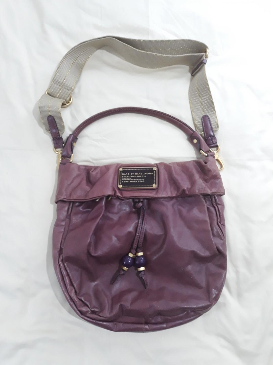 Authentic MARC BY MARC JACOBS classic Q hilier standard supply hobo bag