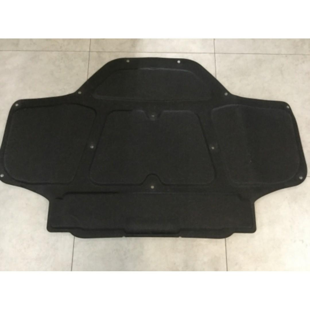 BMW X3 Hood Insulator Set