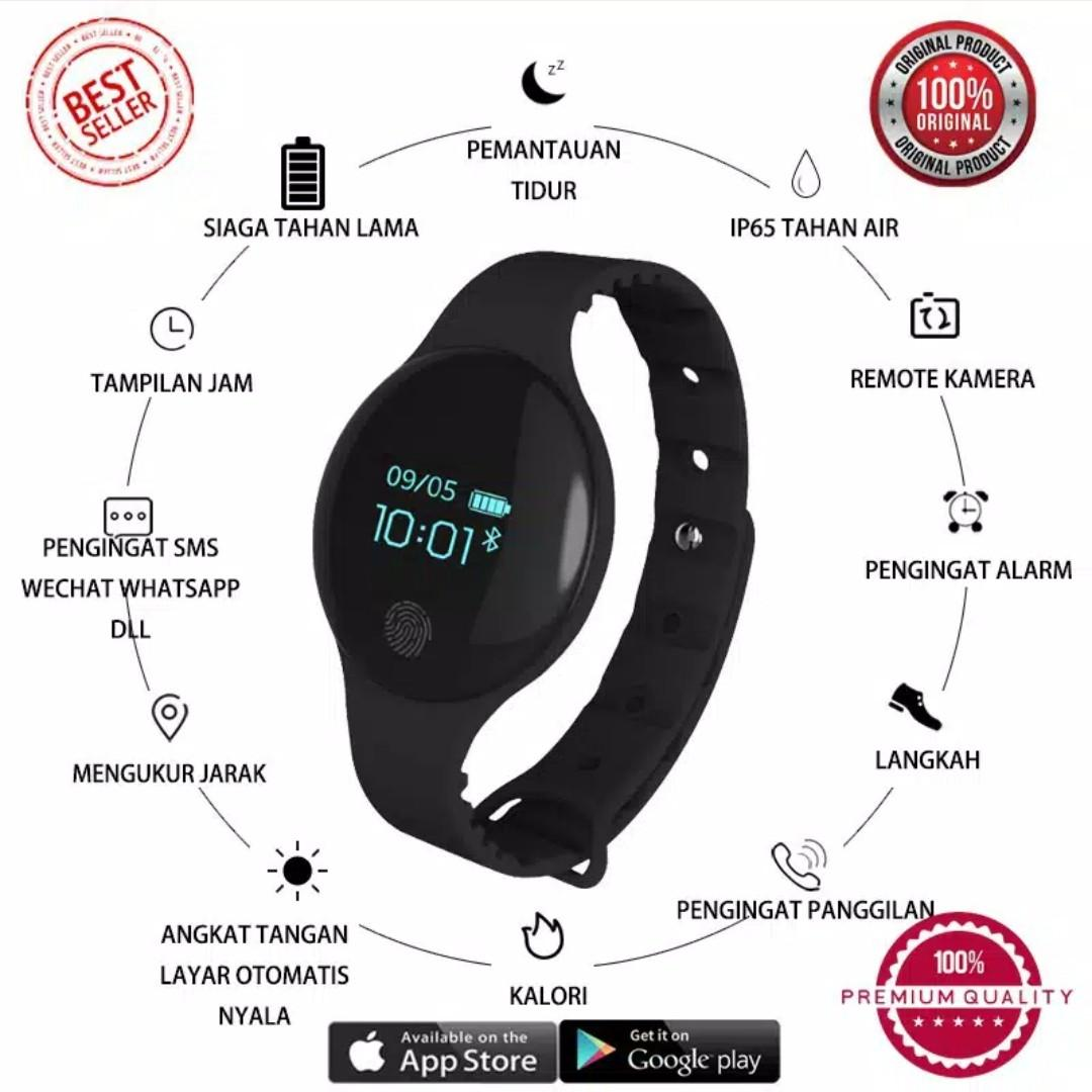 Bracelet TLW08 Flagfit smart band Tracker BT 4 Sport health Pedometer / Digital Watch / Smartwatch / Flagfit Smartband Android and IPhone / Watch