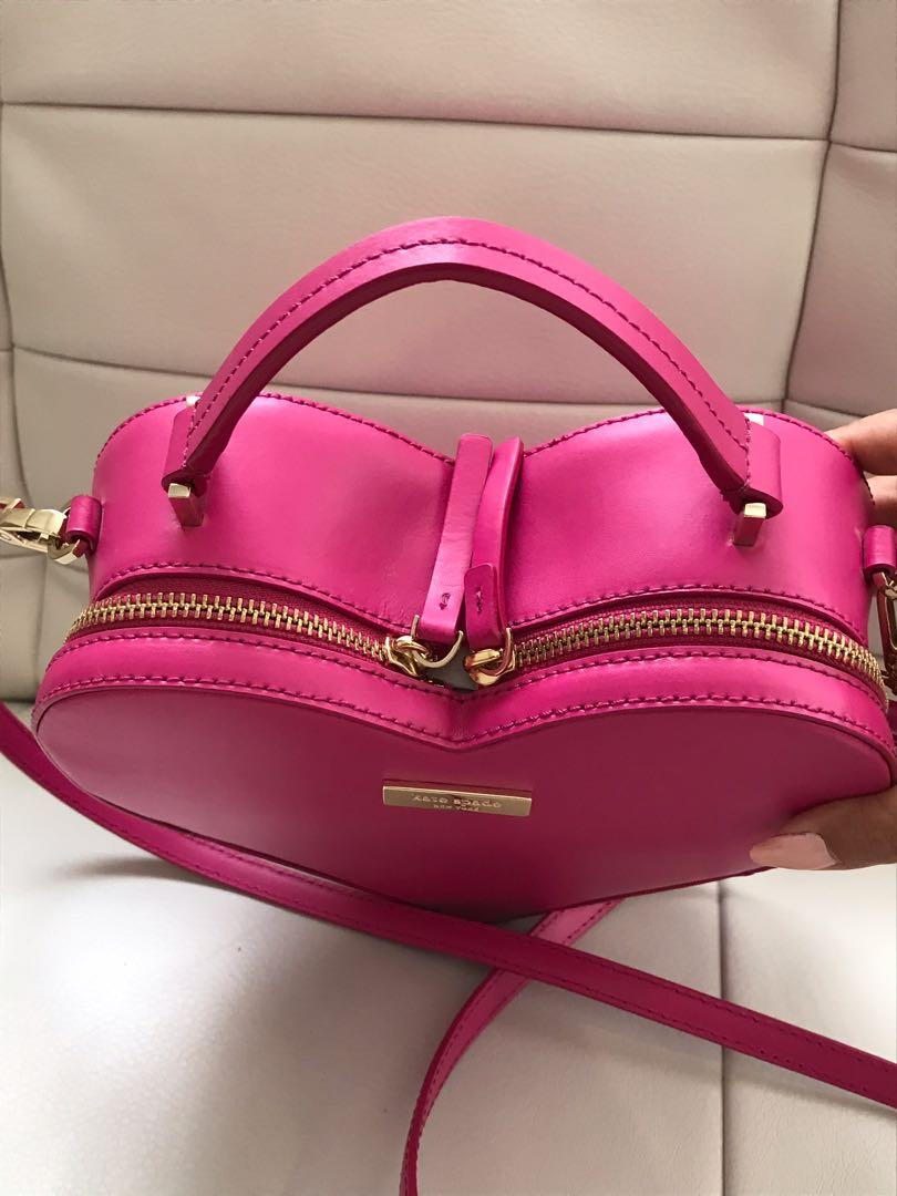 Brand New Authentic Kate Spade ❤️ Heart Leather Purse