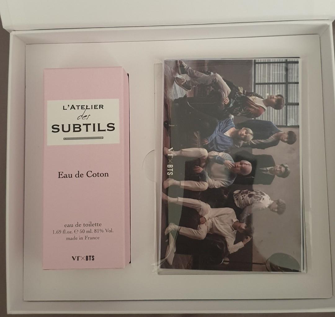 L Atelier 50 bts vt l'atelier des subtils jin eau de coton perfume