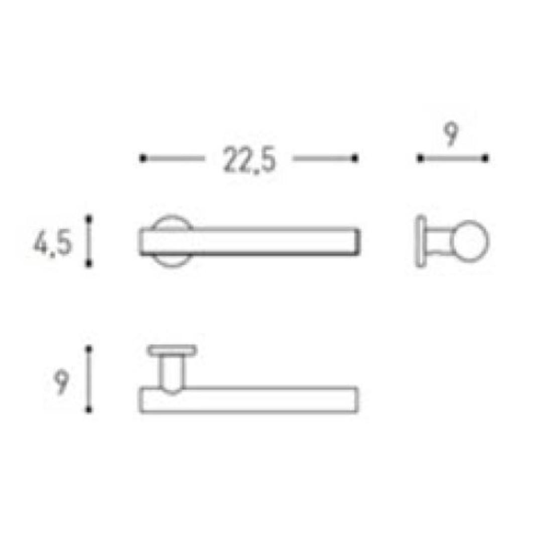 Cosmic Architect Towel Rail 22.5cm