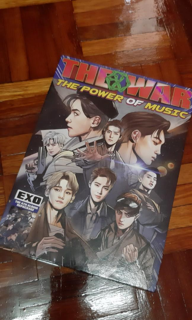 EXO REPACKAGE ALBUM: THE POWER OF MUSIC (Korean Ver)