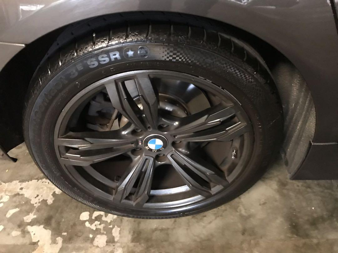 F10 BMW 5 Series Beautiful Used Rims with Continental CSC3 Runflat tyre 245/45/R18