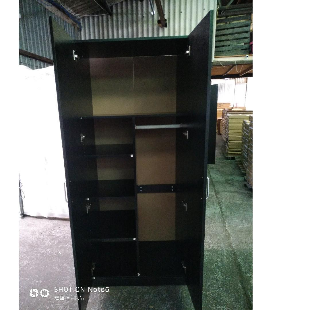 Free Delivery and Assembly ! 2 Door Combo Wardrobe at $290