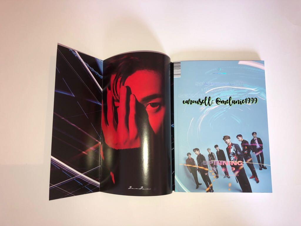 [GOT7] SPINNING TOP: BETWEEN SECURITY & INSECURITY (SECURITY Version)