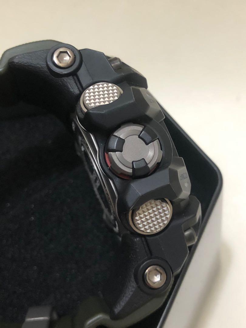 G-Shock GWG-1000-1A3DR 泥王(綠色錶帶)95%新,有保養