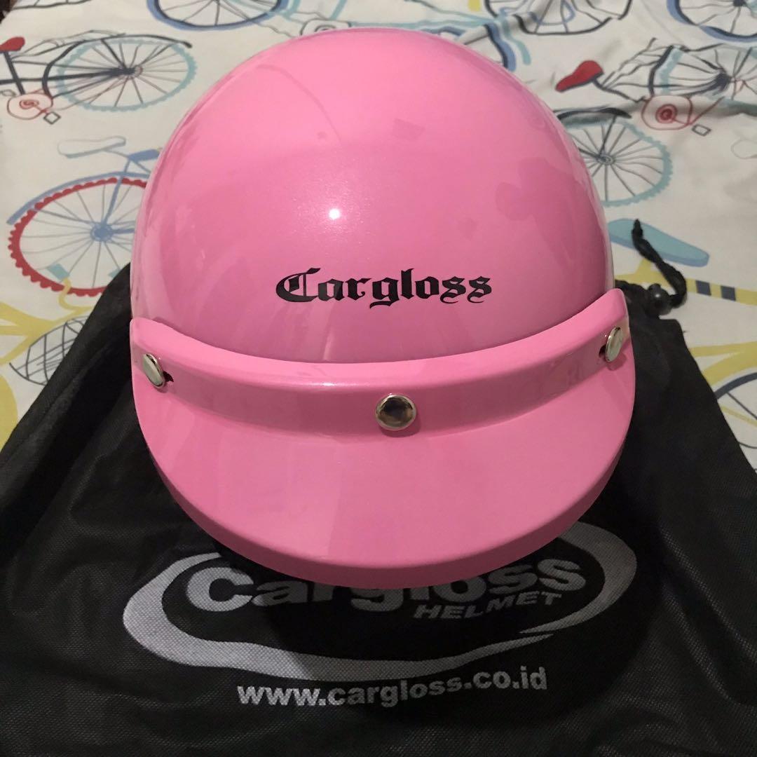 Helm cargloss pink