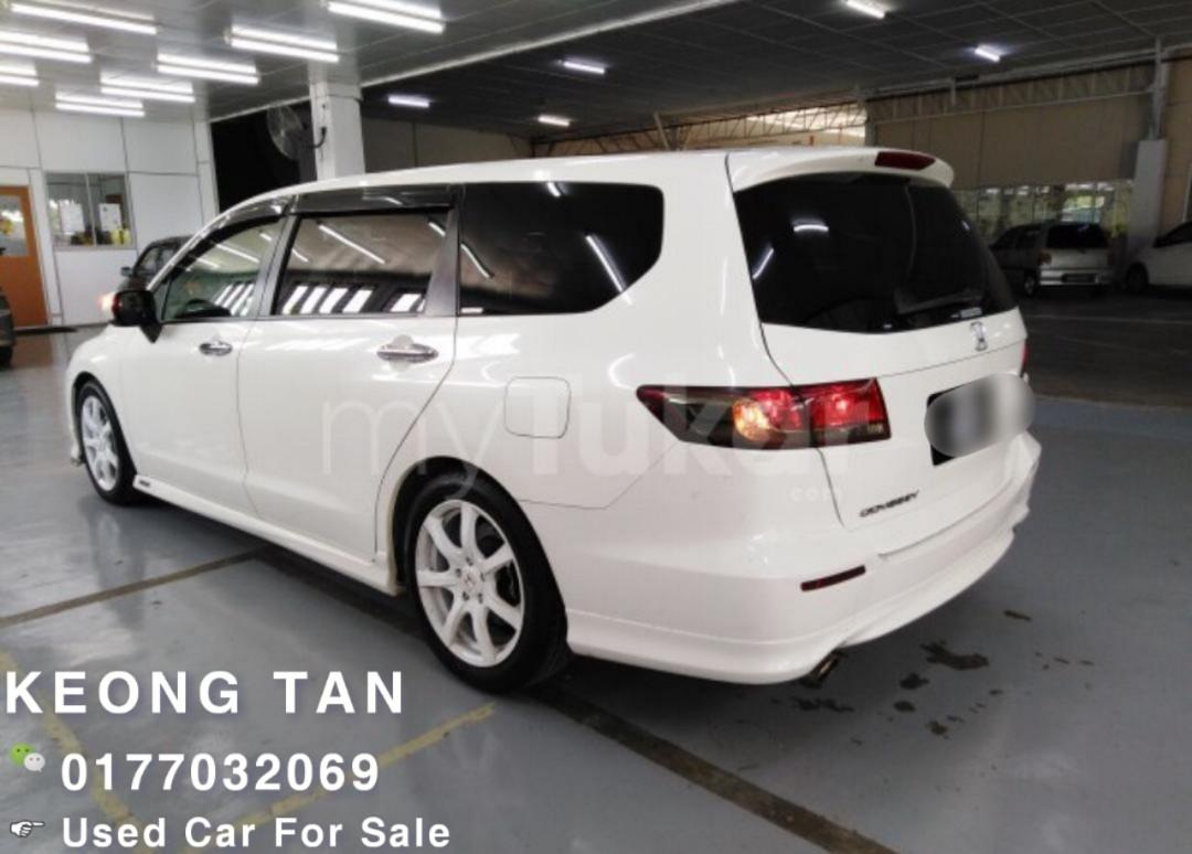 🚙HONDA ODYSSEY 2.4AT I-VtecABSOLUTE RB3 2011/Reg2016 Push Start🚘Cash💰OfferPrice!!🎉 Rm74,300 Only‼ Lowest Price InJB 🎉📲 Keong‼🤗