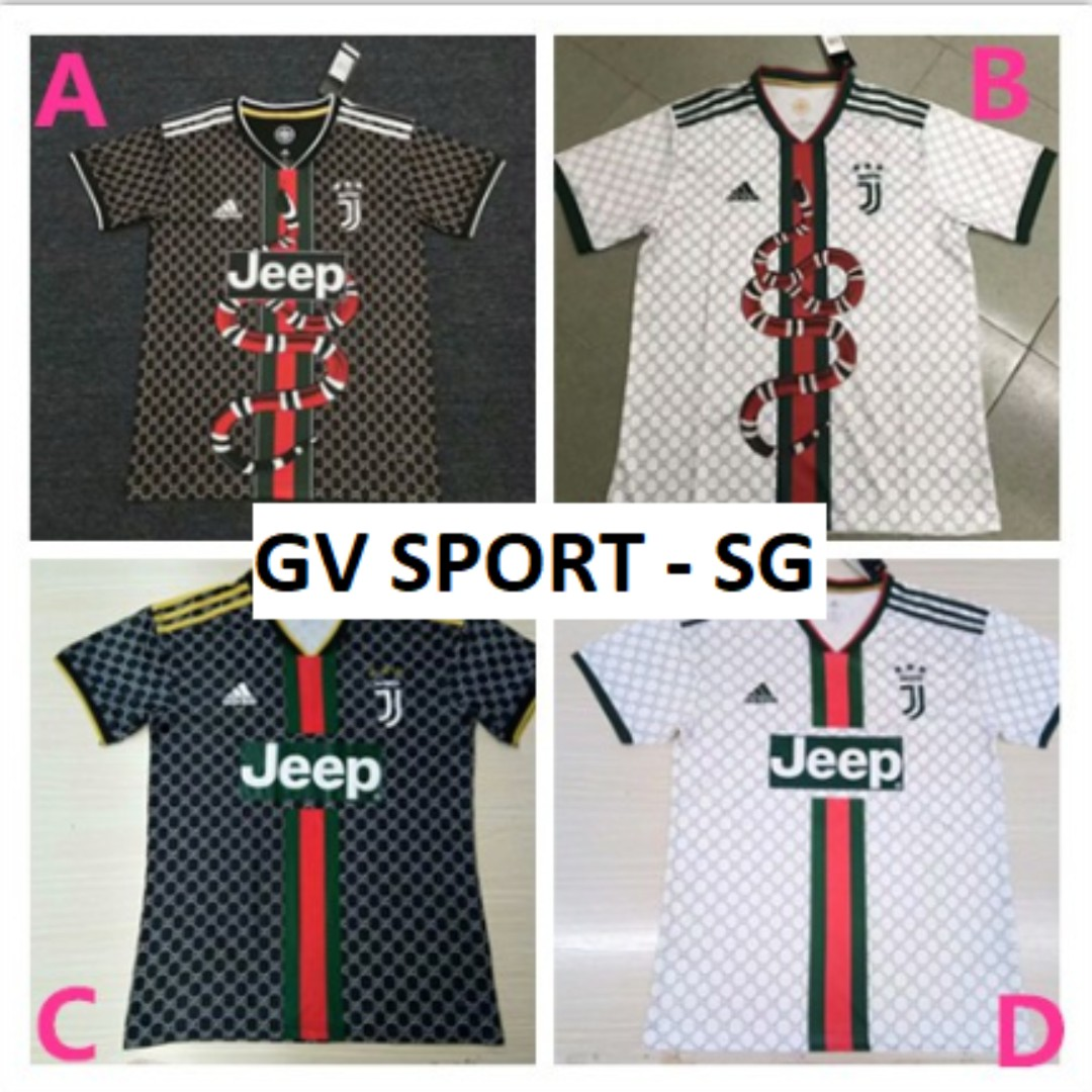 Juventus X Gucci Special Edition Sports Sports Apparel On Carousell