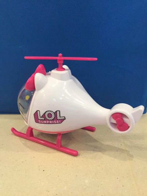 LOL helicopter sale reduced price, Toys & Games, Bricks