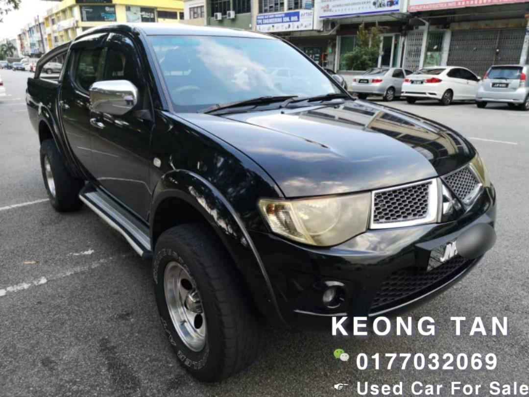 MITSUBISHI TRITON 2.5AT 4X4 2011TH Johor NicePlate🚘Cash OfferPrice💲Rm38,800 Only!! 🎉Monthly Installment Rm626 Only💰 Lowest Price InJB🎉📲 Keong‼🤗