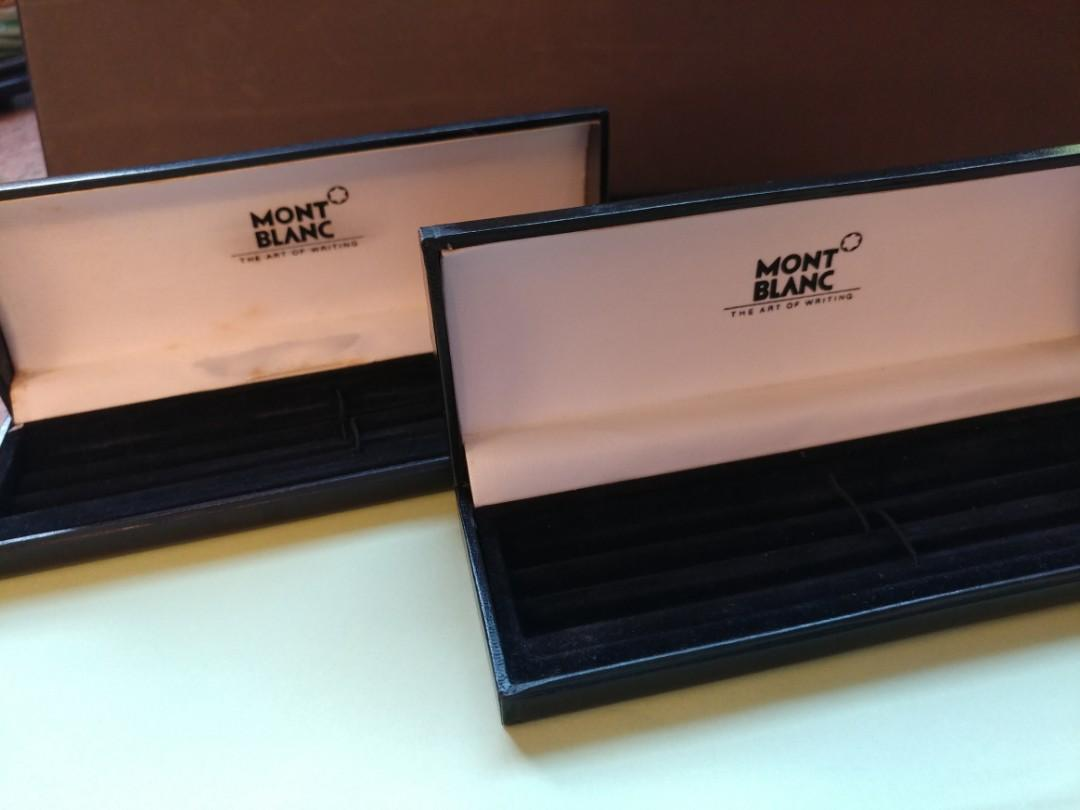 Montblanc 萬寳龍淨筆盒2個
