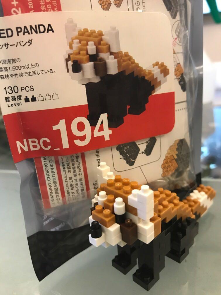 Nanoblock Red Panda NBC/_194 Kawada