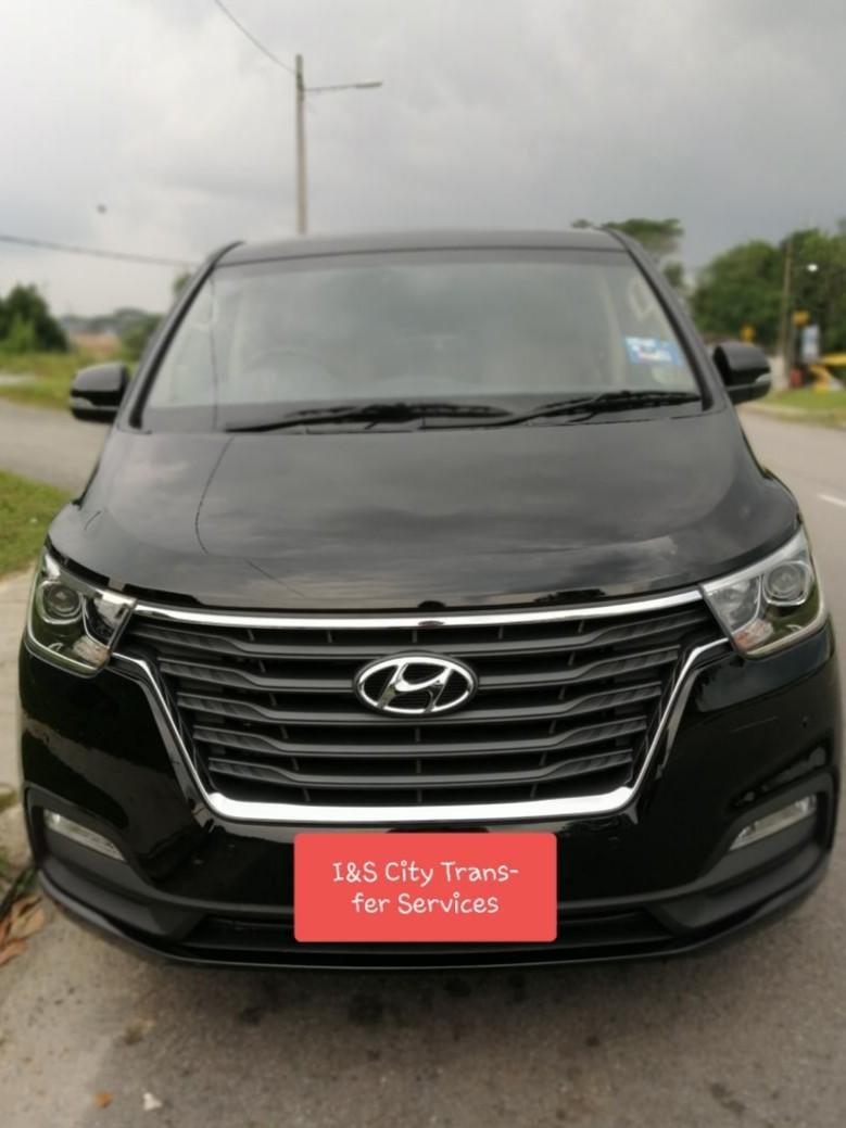 Hyundai Starex for Transfer and Tour Services