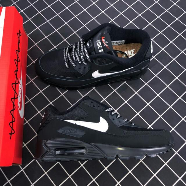 42.5) NIKE AIR MAX 90 ESSENTIAL 537384 072 CZARNE