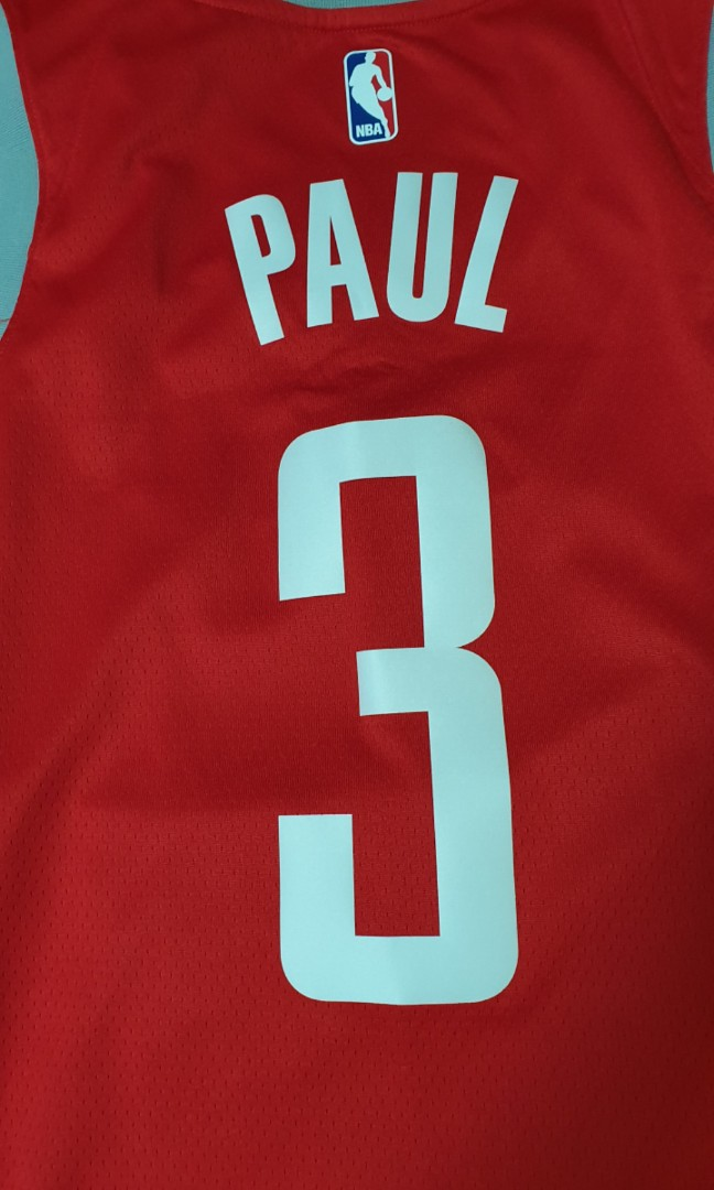 finest selection e413d 5350c Nike Nba Chris Paul Houston Rocket Jersey, Sports, Sports ...