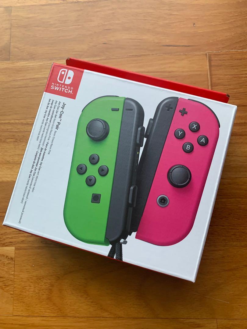 Nintendo Switch Joy-Con Controller Pair (Neon Green/Neon