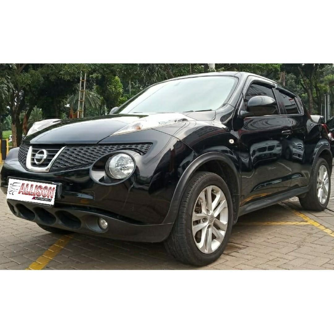 Nissan Juke RX 1.5 AT CVT 2012 Black (DP 25,9 Jt) No Pol Genap