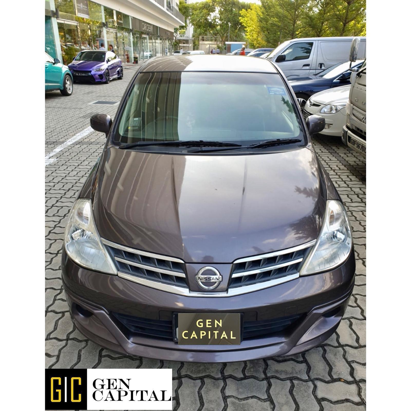Nissan Latio 1.5A - Best rates, full servicing provided!