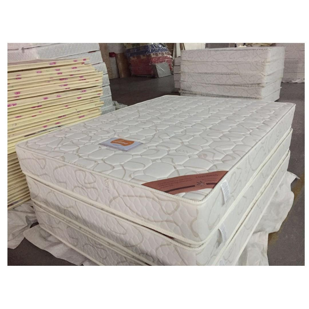 PU Bed with Pocket Spring Mattress(Single-$310/Double-$370/Queen $420)