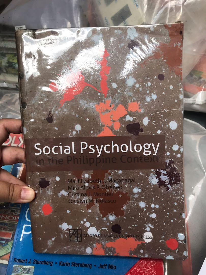 Social Psychology in the Philippine context by Macapagal, Ofreneo,Montiel & Nolasco