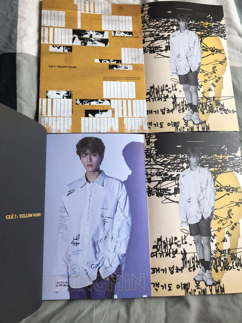 Stray Kids Clé 2: Yellow Wood Album - Clé 2 Ver. (Seungmin Page)