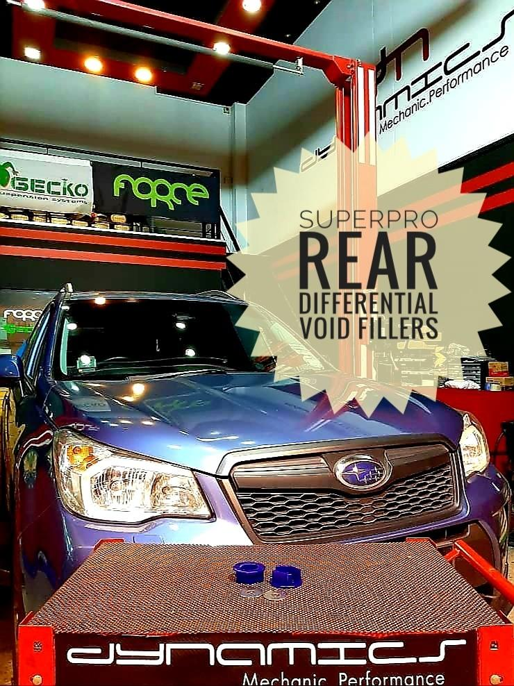 Subaru Forester SJ: SuperPro Rear Differential Void Fillers