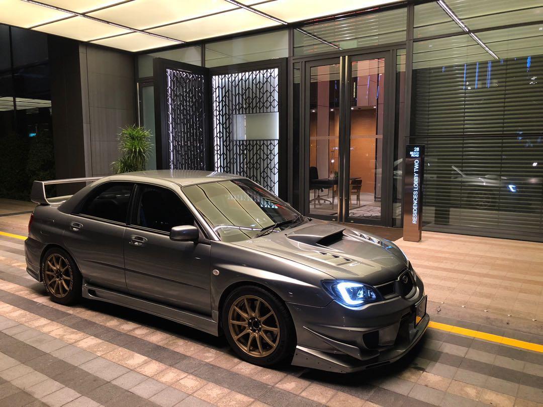 Subaru Impreza WRX 2.5 4-Dr Manual