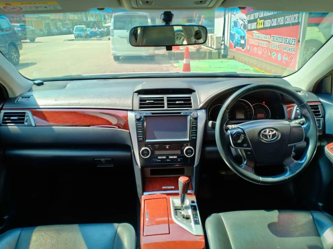 TOYOTA CAMRY 2.0AT G SPEC 2013TH🚘Nice💰JohorPlate🎉 Low MILEAGE 9XXXXKM Cash💰OfferPrice💲Rm73,800 Only