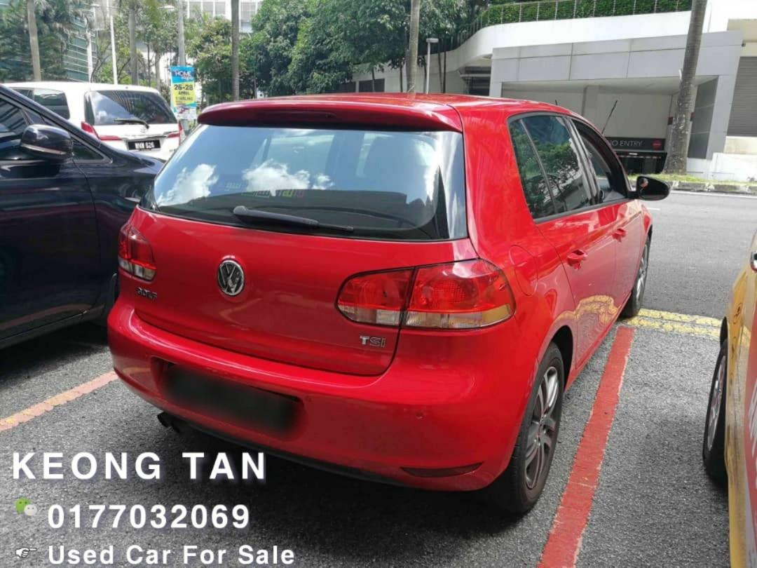 VOLKSWAGEN GOLF 1.4AT TSI TURBO 2011TH Cash🎉OfferPrice Rm37,800 Only🎉 ‼Lowest Price InJB 🎉📲 Keong‼🤗