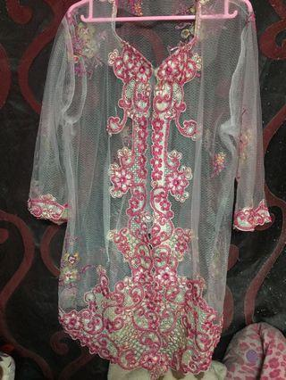 Kebaya Indonesia (baju sahaja) saiz46/ 48