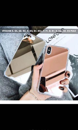MIRROR CASE ROSEGOLD IPHONE X/XS