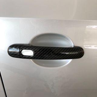 Skoda rapid Volkswagen Jetta carbon fibre door handles