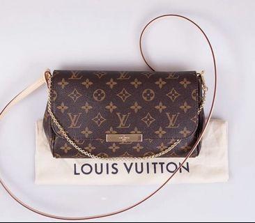 LV Louis Vuitton Favourite MM Favorite MM Authentic