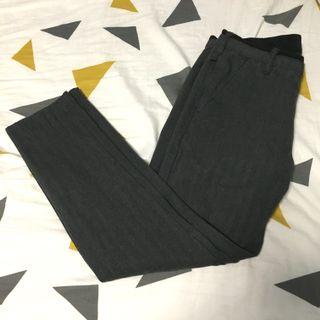 izzue slim cut trousers
