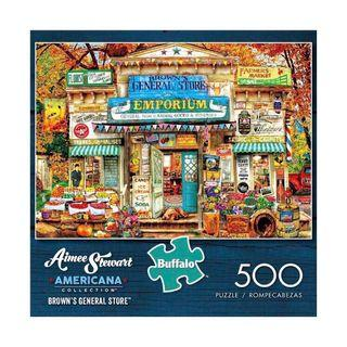BNIB Brown's Store 500 Pieces Jigsaw Puzzle
