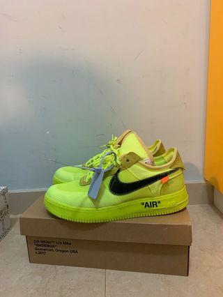 Offwhitw ow airforce af volt