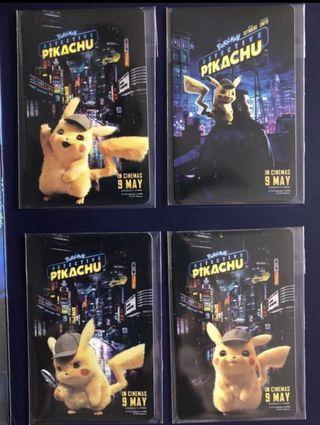 🚚 Detective Pikachu EZ-Link Cards