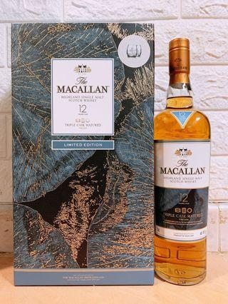 (限定版)麥卡倫黃金三桶12年 - Macallan 12 Year Old Fine Oak Limited Edition