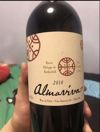 Almaviva 2010 智利 活靈魂