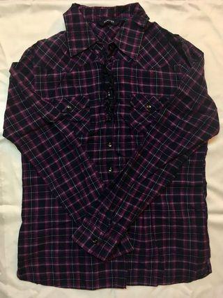 🚚 HANGTEN紫色襯衫