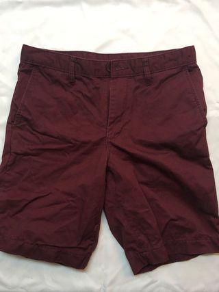 🚚 NET酒紅短褲